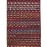 Bunker Hill Red Braided Rug