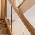Houston Oak Handrail - Select Oak Production