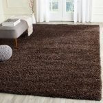 Rowen Hand-Tufted Brown Area Rug