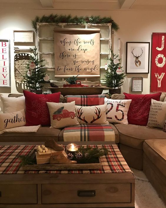 100+ Warm & Festive Red and White Christmas Decor Ideas