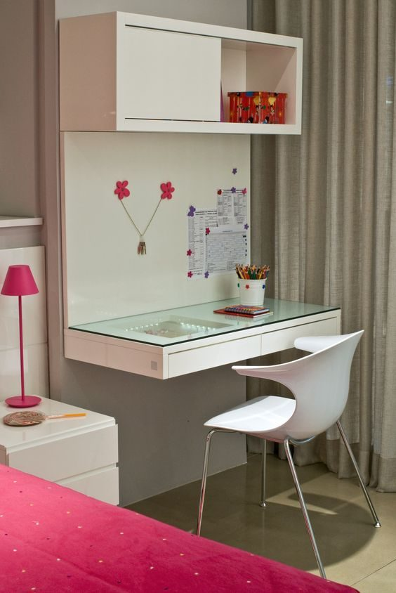 17 Combination Dressing and Study Tables for Your Small Bedroom