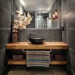 9 Design Tips for a Modern Bathroom Makeover - #bathroom #Design #Makeover #mode...
