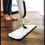 A homemade laminate floor cleaner made with just three ingredients to clean and ...