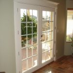 After Patio Door Painted Door Trim Installation