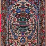 "Buy Esfahan Persian Rug 2' 5"" x 3' 6"", Authentic Esfahan Handmade Rug"