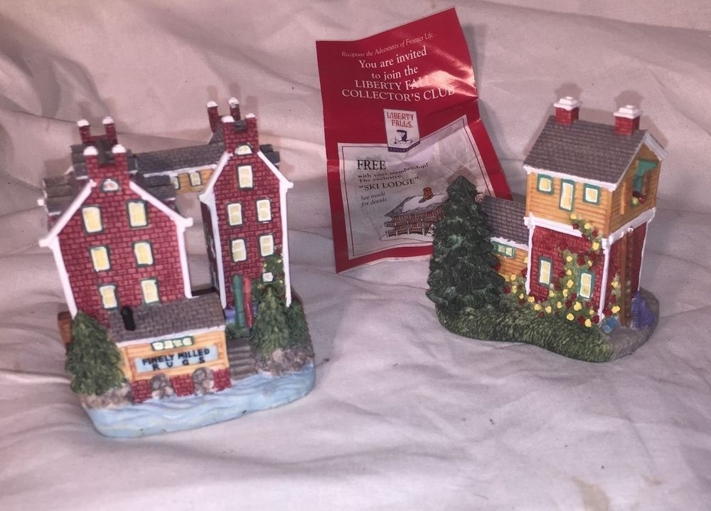 Details about 1999 'All in One' from Liberty Falls – Winthrop's Carpet Mill & Warehouse Set