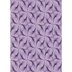 East Urban Home Abstract Wool Purple Area Rug Rug Size: Rectangle 4' x 6'