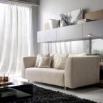 [Featured] : Contemporary Living Room Design Ideas Along With White Couch Also C...