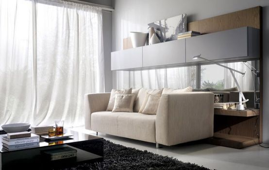 [Featured] : Contemporary Living Room Design Ideas Along With White Couch Also C…