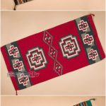 Hand woven southwestern rugs are beautifully designed for a cabin, Santa Fe styl...