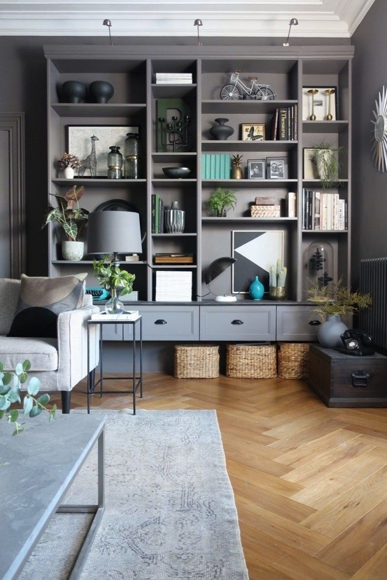 Ikea's Billy bookcase gets the ultimate hack treatment, when four units are tran…