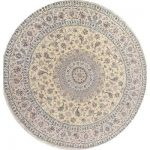 Isabelline One-of-a-Kind Richmond Nain Persian Hand-Knotted 13' 2'' Wool Beige/Ivory Area Rug