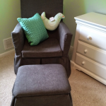 Life Really is Too Short - So Sew: Makeover of a Glider Rocker