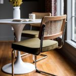 Nora Dining Chair, Olive Green (Set of 2) - Edloe Finch Furniture Co