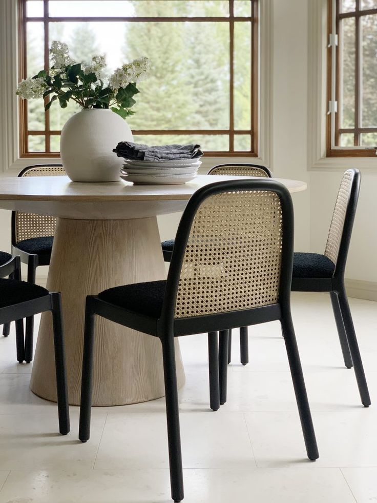 Our new caned dining chairs are here!!!