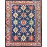 Ruggable Washable Noor Ruby 8 ft. x 10 ft. Stain Resistant Area Rug, Red