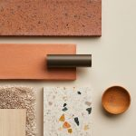 Smooth or flecked, earthy bricks and warm timbers are perfectly paired with play...