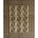"""Traditional 1984 area rug - 5'0"""" by 7'0"""" - 5' x 8'/Surplus, Multicolor"""