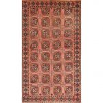 """Traditional 401 area rug - 5'0"""" by 7'0"""" - 5' x 8'/Surplus, Multicolor"""