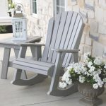 Wildridge Outdoor Heritage High Fan Back Rocking Chair - Ships in 10-14 Business Days
