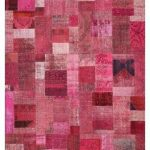 World Menagerie Zioutas Contemporary Pink Area Rug