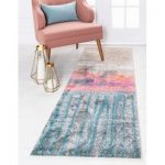 Wrought Studio Wynn Traditional Pink Area Rug | Wayfair