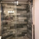 tile shower ideas for small bathrooms - Installing accent tiles in the walk-in s...